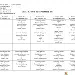 MENU COLLECTIVITE SEPTEMBRE20161