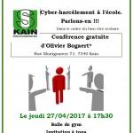 Conférence cyber-harcèlement